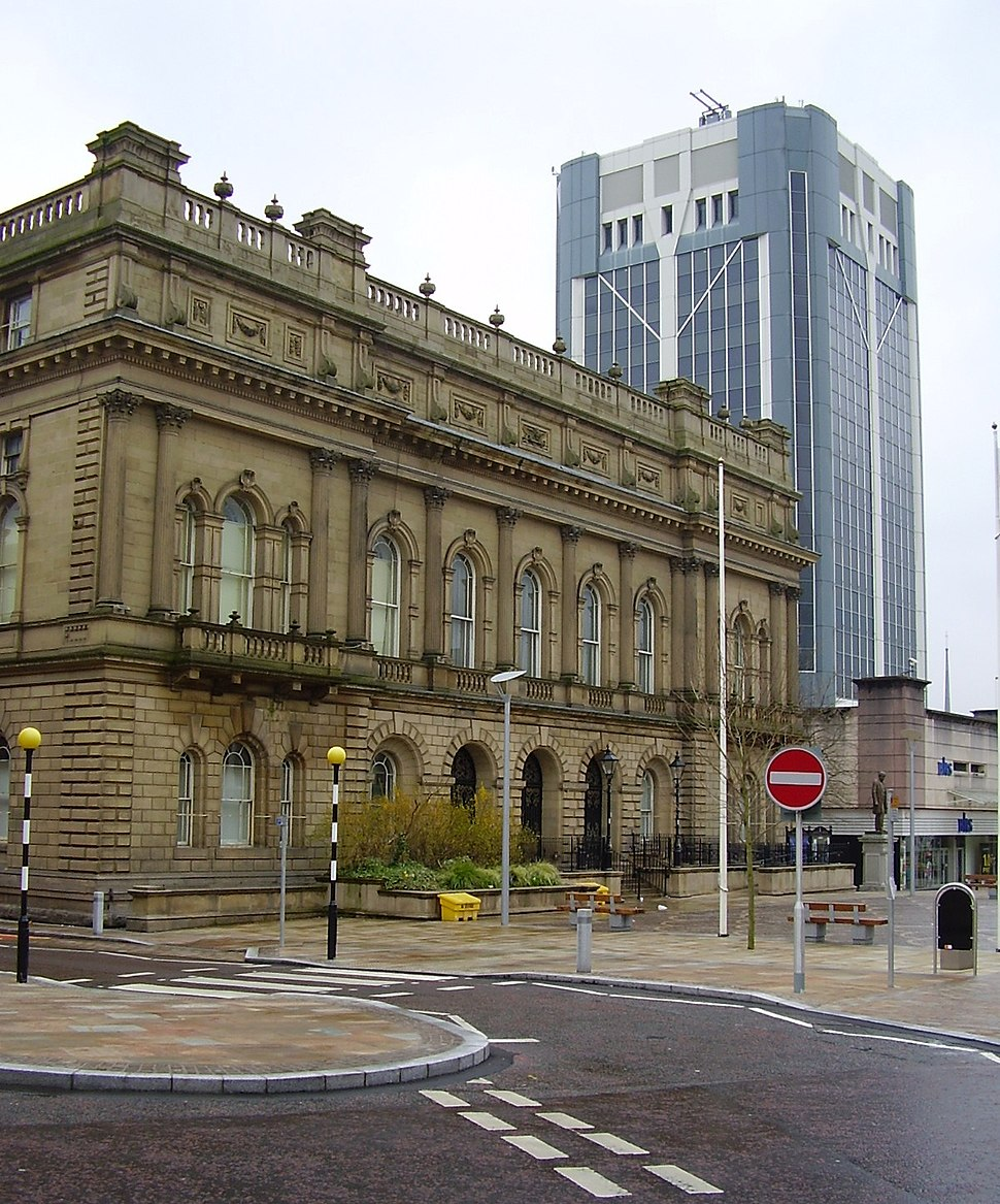 Town Hall Blackburn Lancashire