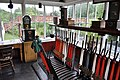Town railway signal box, Beamish Museum, 29 July 2011 (2).jpg