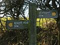 Trailmark on the South Downs Way, Sussex, UK.jpg