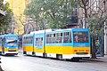 Tram in Sofia mear Macedonia place 2012 PD 027.jpg