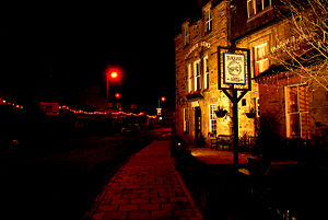 Innerleithen - Image: Traquair Arms Hotel