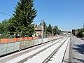 Travaux de la branche vers Vieux-Condé de la ligne B du tramway de Valenciennes en mai 2012 (087).JPG