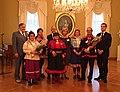 Tre vinnere av Gollegiella prisen 2014 (Foto Anne Britt K.Hætta) (15656043030).jpg