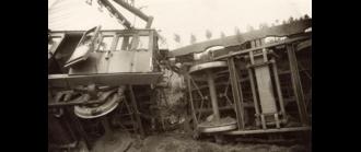 Houten train accident - Image: Treinramp Houten 1917 (2)