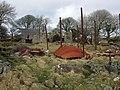 Trellwyn-fach with collapsed barn - geograph.org.uk - 1174740.jpg