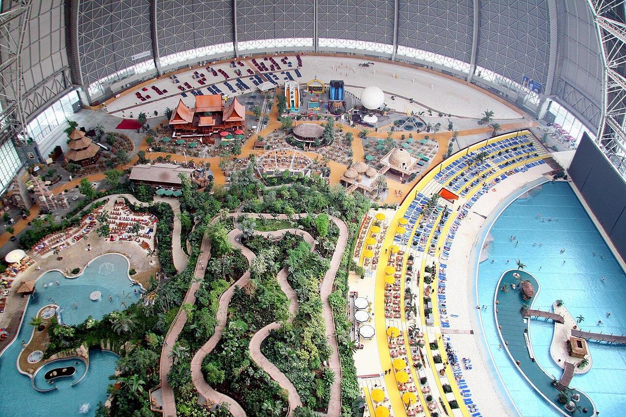 Indoor Water Parks:Tropical Islands Resort