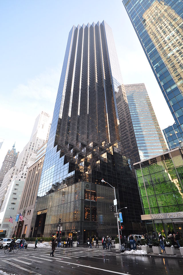 Trump Tower Sight In New York City New York Usa Travel Guide Tripwolf