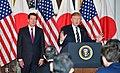 Trump speaks to Japanese business leaders at US Ambassador's residence.jpg