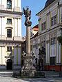 Trzebnica St. John Nepomuk monument.jpg