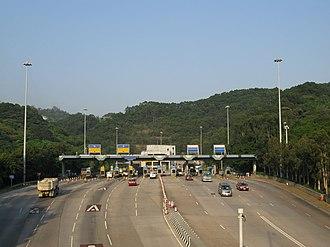 Tseung Kwan O Tunnel - Tseung Kwan O Tunnel, Sau Mau Ping portal