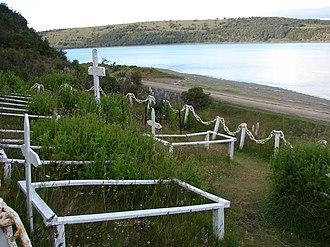 Pringle Stokes - Grave of Stokes in Punta Santa Ana