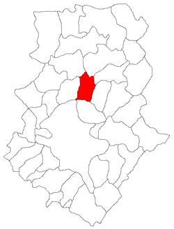 Vị trí của Tunari