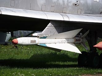 R-4 (missile) - Image: Tupolev Tu 128 at Central Air Force Museum Monino pic 2