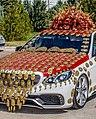Turkmen Decorated wedding car.jpg