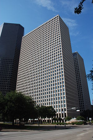 Devon Energy Tower (Houston) - Image: Two Allen Center Houston DSC 7839 ad