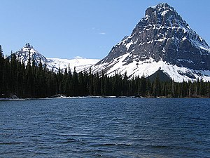 Two Medicine - Two Medicine Lake with Sinopah Mountain