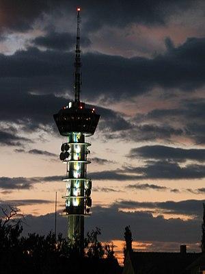 NRK - NRK television tower in Trondheim