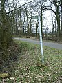 Typical footpath sign, Swinford Road - geograph.org.uk - 1763247.jpg