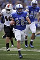 U.S. Air Force Academy Senior Cody Getz heads into the end zone as Air Force defeated the Idaho State Bengals 49-21 at Falcon Stadium in Colorado Springs, Colo., Sept 120901-F-ZJ145-787.jpg