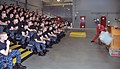 U.S. Navy Quartermaster 2nd Class Michael Wignall, a facilitator in the USS Chief (MCM 14) Fire Fighting trainer at Recruit Training Command, shows recruits from Division 816 how to operate a CO2 fire 120702-N-IK959-818.jpg