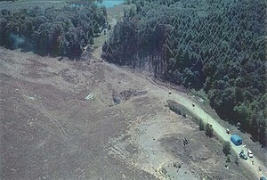 Shanksville Volunteer Fire Department - The crash site of United Airlines Flight 93.