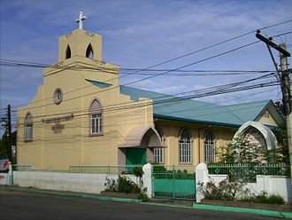 Protestantism in the Philippines - The United Church of Christ in the Philippines in Laoag City.