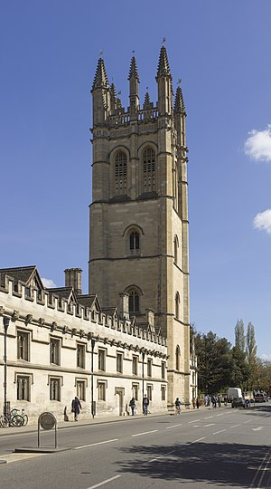 Magdalen College, Oxford - Magdalen College Tower