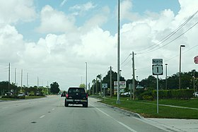 US1 North - Ahead of FL716 - Port Saint Lucie FL (40207556500).jpg