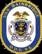 USS Bainbridge DDG-96 Crest.png