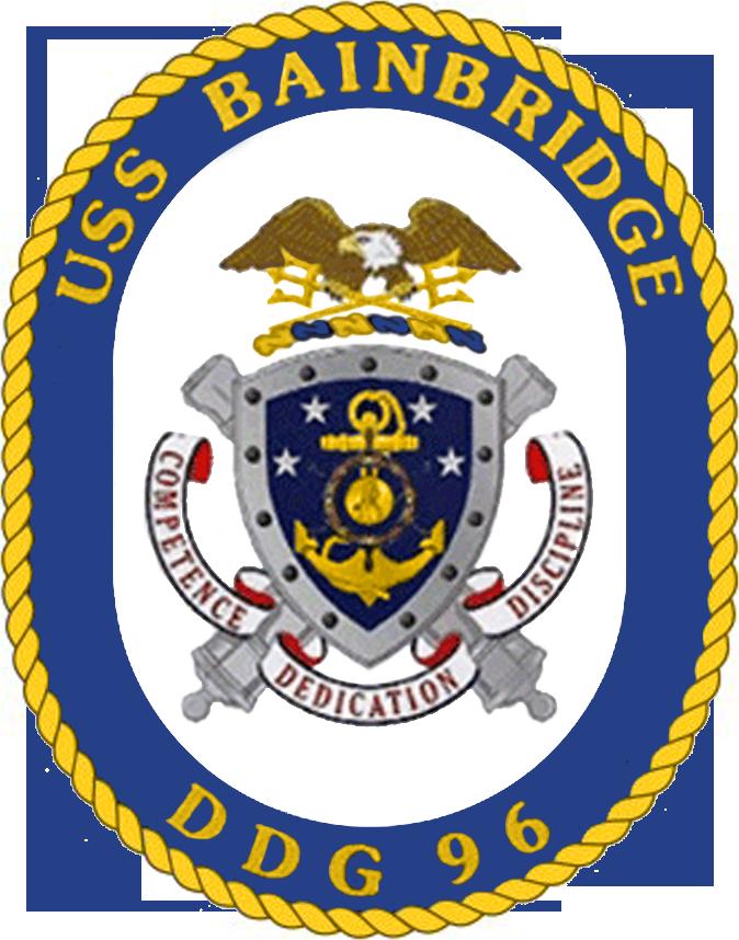 USS Bainbridge DDG-96 Crest