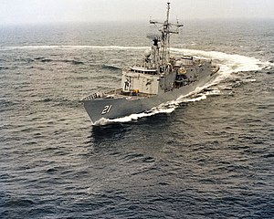 USS Flatley FFG-21