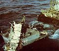 USS Gunason (DE-795) being sunk c1973.jpg