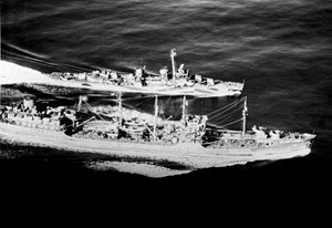 USS Kaskaskia (AO-27) and USS Hart (DD-594)