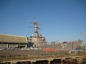 USS MITSCHER at the Gov Nichols Wharf.jpg