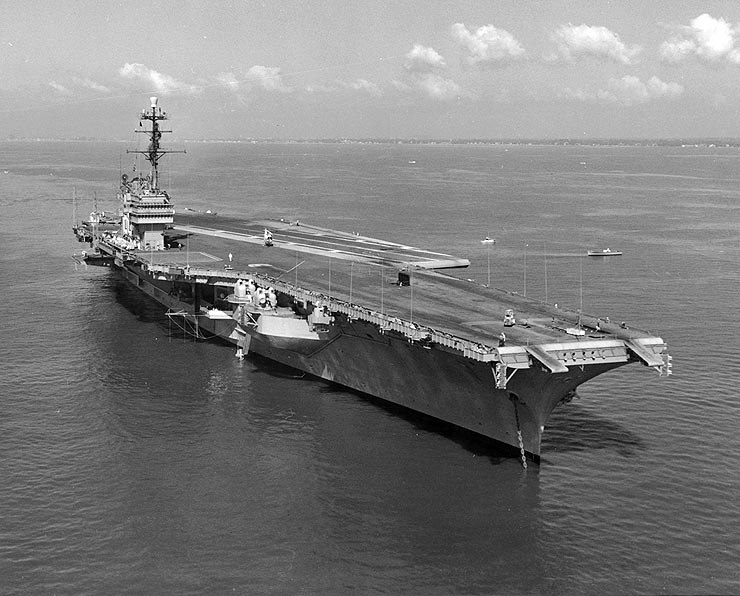 USS Saratoga (CVA-60) 1957