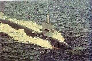 Sturgeon-class attack submarine