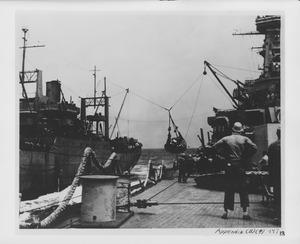 USS Washington supply transfer at sea NARA BS 111671.tif