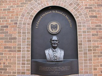 Uniformed Services University of the Health Sciences - The medical college is named after Louisiana Congressman F. Edward Hebert, one of the longest serving members in the U.S. House of Representatives (1941-1977). Hebert was instrumental in the founding of USUHS in 1972.