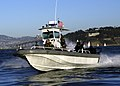 US Navy 031011-N-8029P-009 A patrol craft from Mobile Security Squadron Three patrols San Francisco Bay area during the annual Fleet Week in San Francisco.jpg