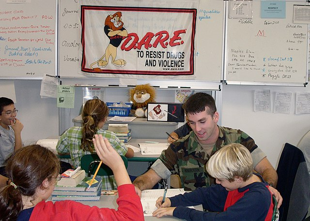 drug abuse resistance education and dare Drug abuse resistance education (dare) founded in 1983 in los angeles, california, the drug abuse resistance program (dare) is a police officer-led series of lessons that teaches kids how to resist peer pressure and live drug and violence-free.