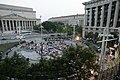 US Navy 050614-N-6157F-003 A bird's eye view of the Navy Memorial during one of the U.S. Navy Band's Summer Concert Series.jpg