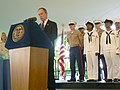 US Navy 070524-N-7656T-001 New York City Mayor Michael Bloomberg welcomes Sailors, Marines, and Coast Guardsmen to New York City at the official Mayoral Fleet Week Welcome at Gracie Mansion.jpg