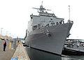 US Navy 080729-N-7656R-004 The amphibious dock landing ship USS Germantown (LSD 42) arrives in Seattle for the 2008 Seafair Fleet Week.jpg