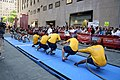 US Navy 090523-N-3088S-012 Sailors assigned to the amphibious assault ship USS Iwo Jima (LHD 7) and Marines from Camp Lejeune, N.C. participate in a tug-of-war match during the taping of the Today Show.jpg