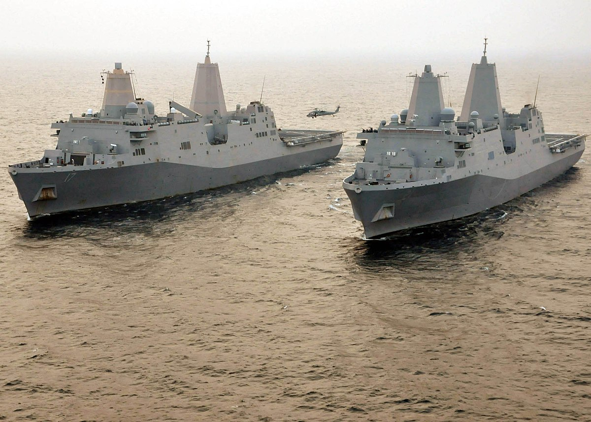 San Antonio-class amphibious transport dock - Wikipedia