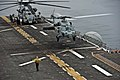 US Navy 110821-N-DX615-058 An MH-60S Sea Hawk helicopter assigned to the Wild Cards of Helicopter Sea Combat Squadron (HSC) 23 lands aboard the amp.jpg