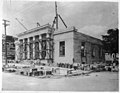 US Post Office being built in Kinston, NC. Date of this photo is 16 July 1915. From Coble's Art Studio Photograph Collection, PhC.190, State Archives of North Carolina. (9614116987).jpg