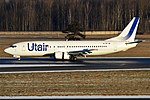 UTair, VQ-BIF, Boeing 737-45S (31220472227).jpg