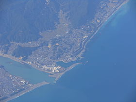 Udono in Kiho from the sky in 2015.jpg