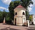 Ujazd, kościół pw. św. Wojciecha-dzwonnica.JPG
